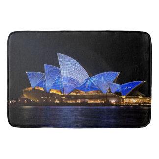 Teatro de la ópera de Australia Sydney en la noche