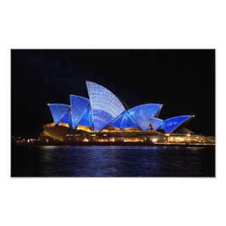 Teatro de la ópera Sydney Australia Foto