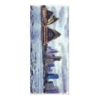 Teatro de la ópera y vista de Sydney Invitación 10,1 X 23,5 Cm