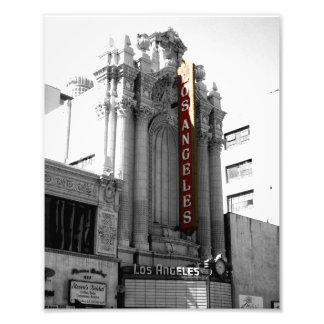 Teatro de Los Ángeles Impresión Fotográfica