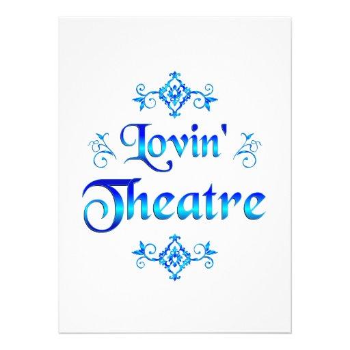 Teatro de Lovin Comunicados Personalizados