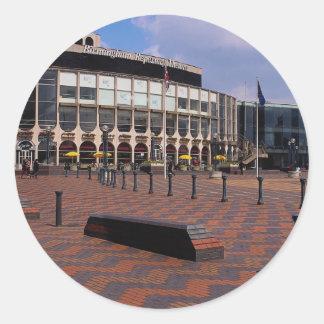 Teatro de repertorio de Birmingham, Birmingham, Pegatina Redonda