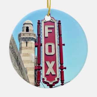Teatro del Fox, Atlanta, Georgia, ornamentos del