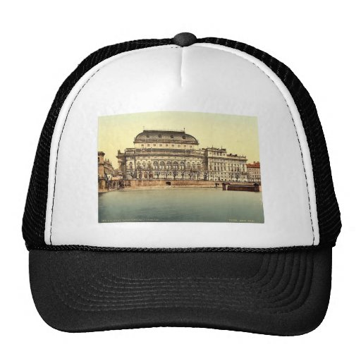 Teatro nacional, Praga, Bohemia, Austro-Hungría Gorros