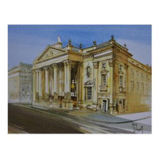 Teatro real, Newcastle sobre la postal de Tyne