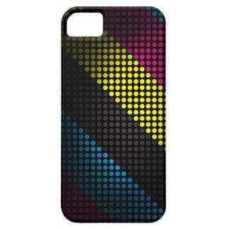Techno, color industrial enciende el caso del iPhone 5 cobertura