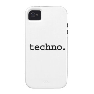 techno Case-Mate iPhone 4 carcasas
