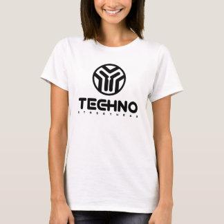 Techno Streetwear - logotipo - camisa para mujer