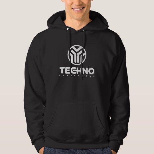 Techno Streetwear - logotipo - sudadera con