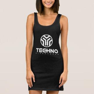 Techno Streetwear - logotipo - vestido para mujer