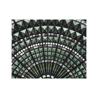 Techo de cristal en la estación de la unión de Los Lona Envuelta Para Galerias