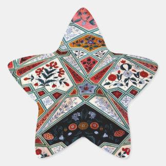 Techo pintado pegatina en forma de estrella
