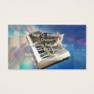 teclado del gato tarjeta de visita