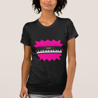 Teclado moderno Synth: modelo 3D: Camiseta