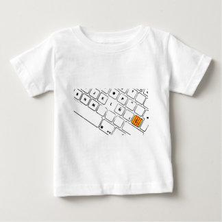 Teclat Ç Camiseta De Bebé