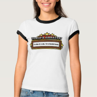Técnico del puesto de las informaciones más camisas