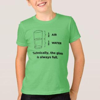 Técnico, el vidrio es siempre camisetas llenas