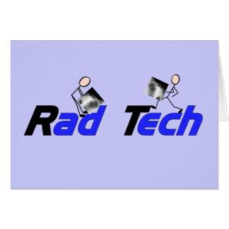 Técnico regalos de la radiología de la tecnología felicitación