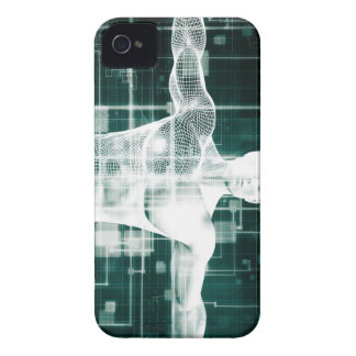 Tecnología de la atención sanitaria y exploración carcasa para iPhone 4