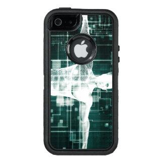 Tecnología de la atención sanitaria y exploración funda OtterBox defender para iPhone 5