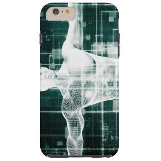 Tecnología de la atención sanitaria y exploración funda resistente iPhone 6 plus