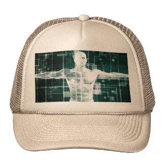 Tecnología de la atención sanitaria y exploración gorras