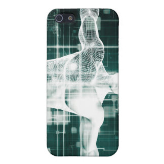 Tecnología de la atención sanitaria y exploración iPhone 5 funda