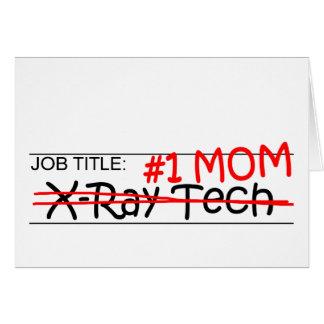 Tecnología de la radiografía de la mamá del tarjeta de felicitación