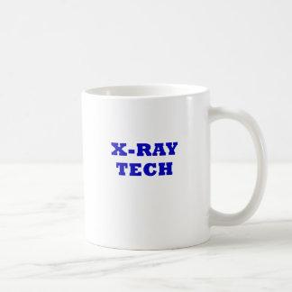 Tecnología de la radiografía taza de café
