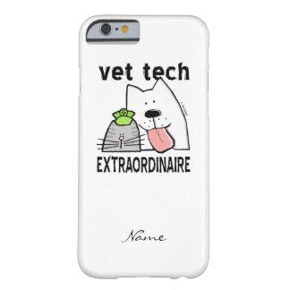 Tecnología del veterinario de la diversión del funda para iPhone 6 barely there