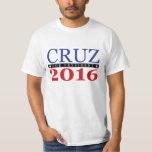Ted Cruz para el presidente 2016 Camiseta