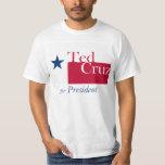 Ted Cruz para el presidente Camisetas