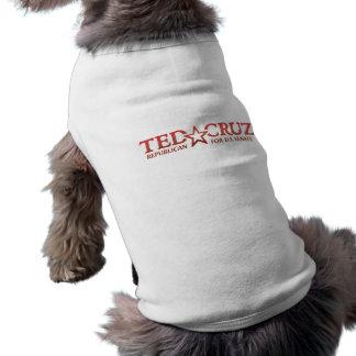 Ted Cruz para la camiseta canina de la ayuda del s