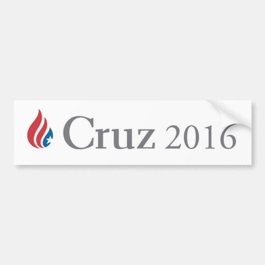 Ted Cruz para la pegatina para el parachoques 2016