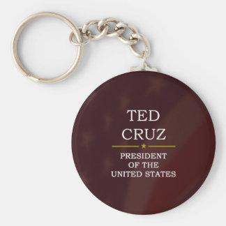 Ted Cruz para presidente V3 Llaveros