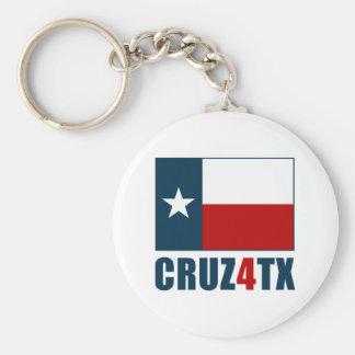 Ted Cruz para Tejas Cruz4TX Llaveros Personalizados