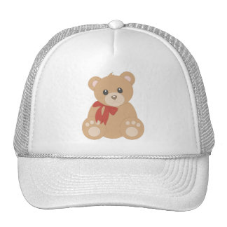 Teddy Bear for Boys Gorras
