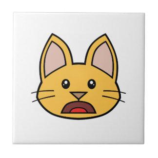 Teja anaranjada 01 del gato FACE0000004
