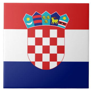 Teja croata de la bandera