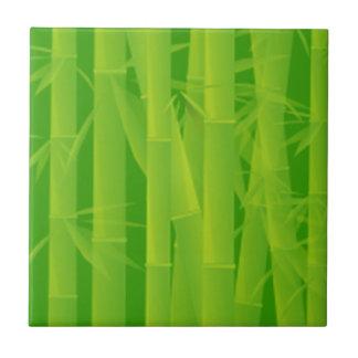 Teja de bambú