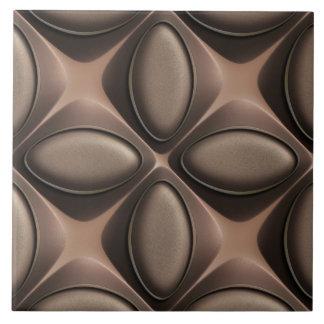 Teja de cerámica de la foto