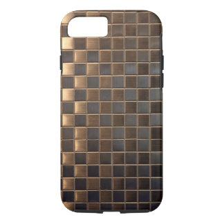 Teja de cobre del Aluminio-Efecto Funda iPhone 7