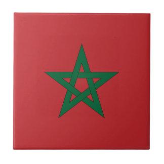 Teja de la bandera de Marruecos