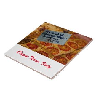 Teja de la foto - pizza de Focaccia - Cinque