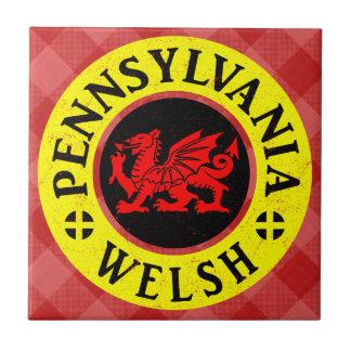 Teja del americano de Pennsylvania Galés