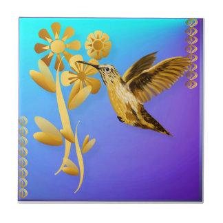 Teja del colibrí del oro