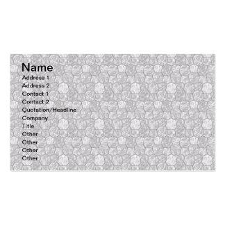 Teja del personalizado de las tarjetas de visita