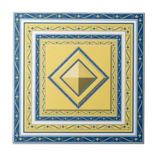 Teja marroquí del diamante