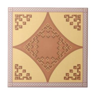 Teja marroquí del zigzag