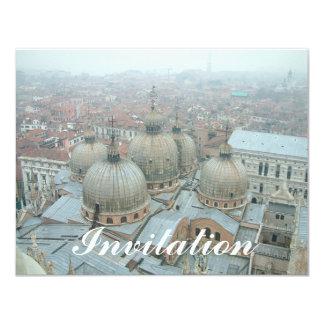 Tejado abovedado de la catedral de Venecia San Anuncios